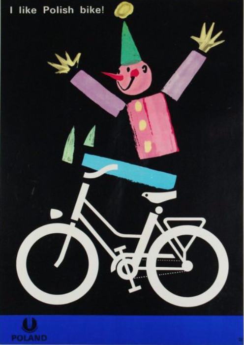 I like polish bike ! Original vintage poster