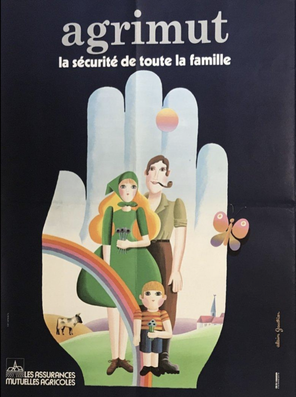 Arts Menages by Francis Bernard Original Vintage Poster