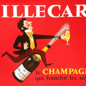 Billecart Hereve Morvan vintage poster