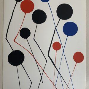 Calder 1973 Original Lithograph