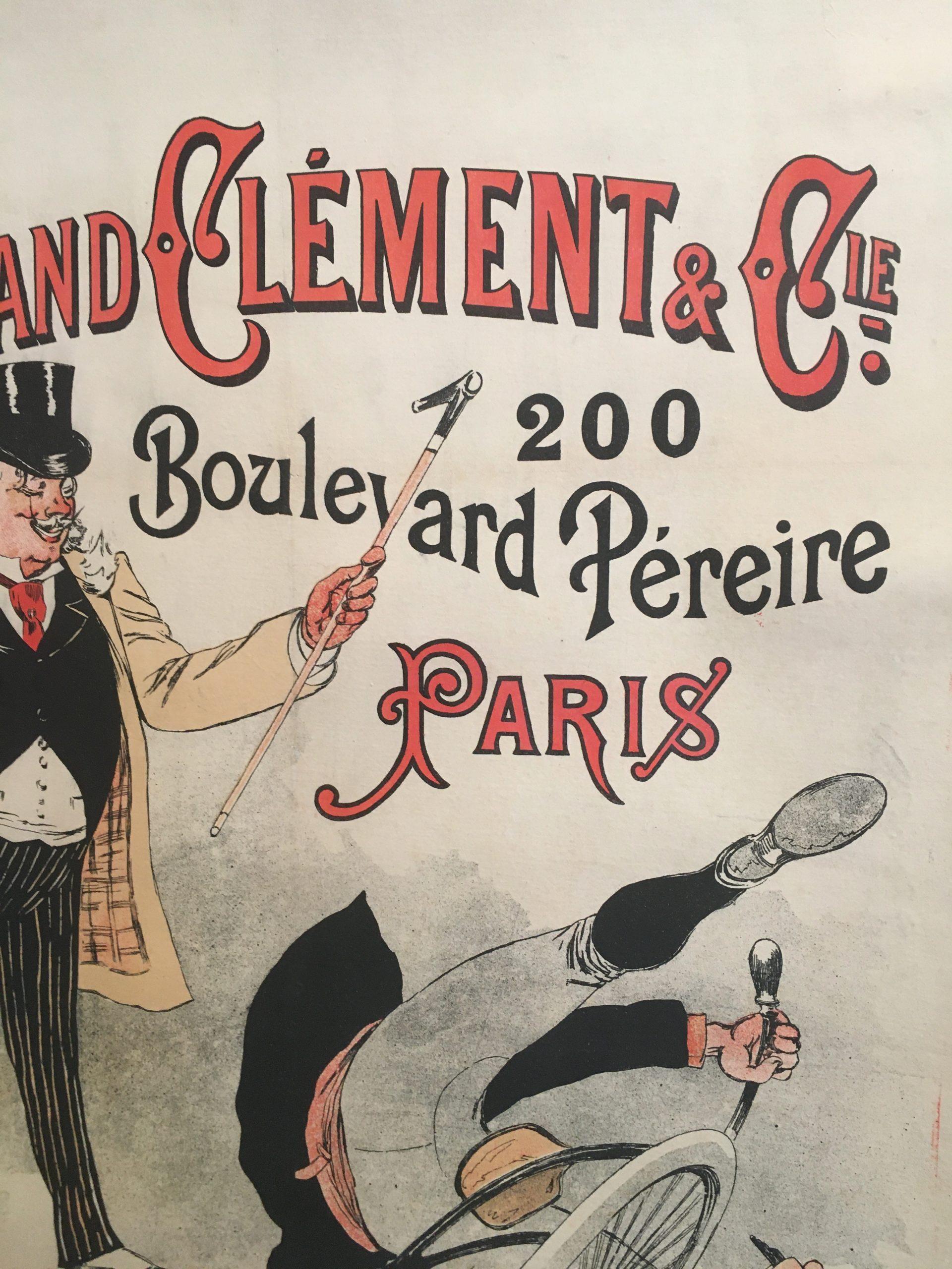 Fernand Calment & Co Late 18th Century Original Vintage Poster
