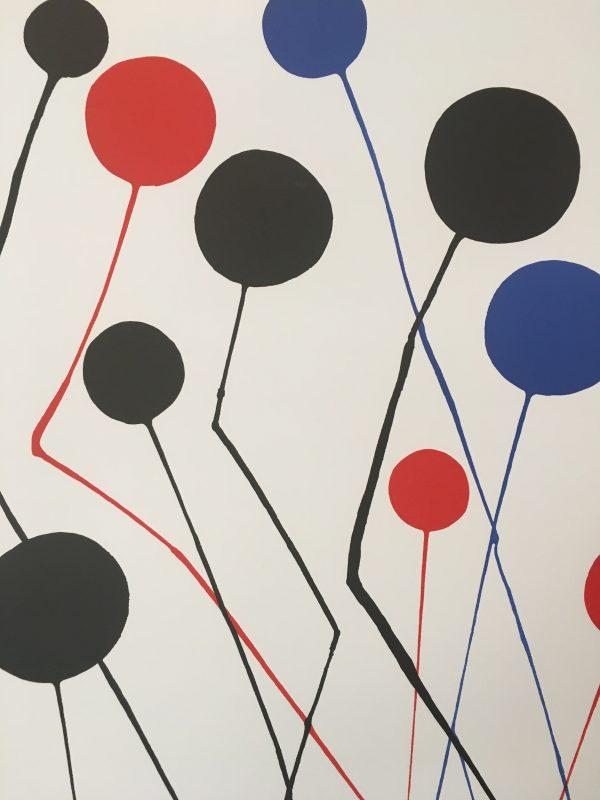 Calder 1973 Original Lithograph Original Vintage Poster