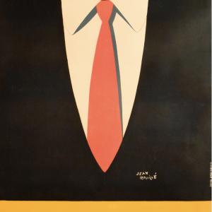 Jean Rouille Framed Original Vintage Poster