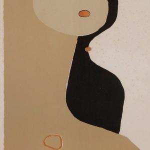 Robert Couturier 1974 Original Vintage Lithograph Poster