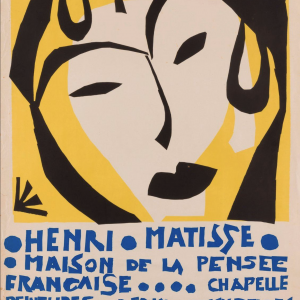 Henri Matisse ORIGINAL VINTAGE LITHOGRAPH POSTER