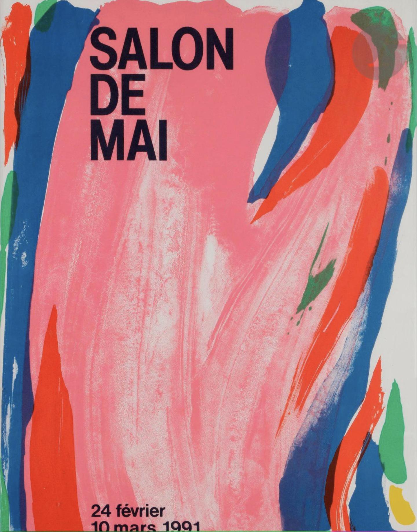 Olivier Debré Salon de Mai Original Vintage Poster