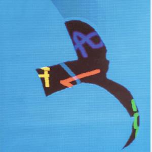 Michel Quarez Chaumont 1997 Original Vintage Poster