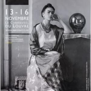 Frida KAHLO by Manuel Alvarez Bravo Original Vintage Poster