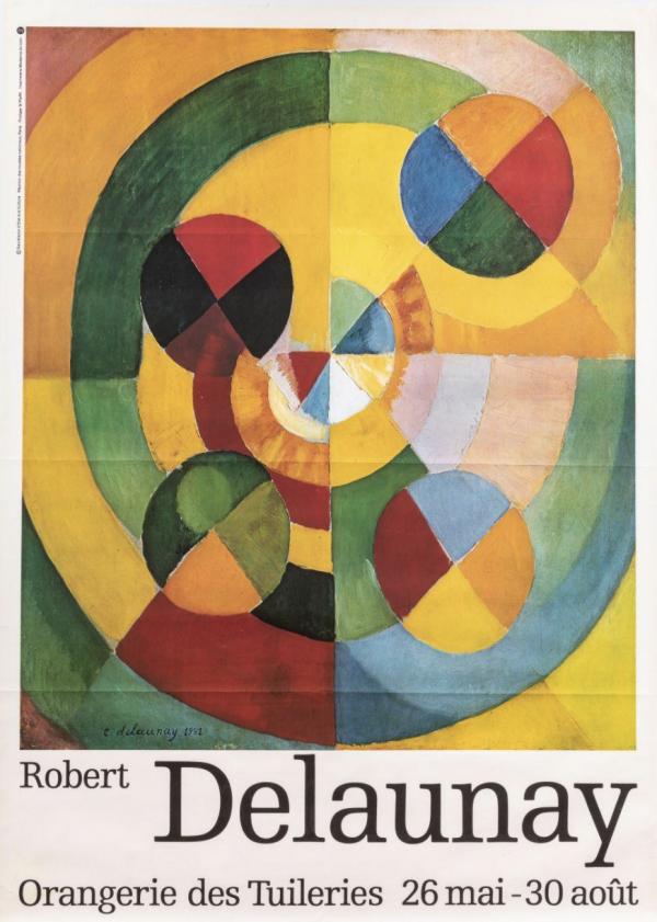 Robert DELAUNAY Exposition à l'orangerie des Tuileries