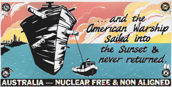 Australia Nuclear Free & Non Aligned Original Vintage Poster