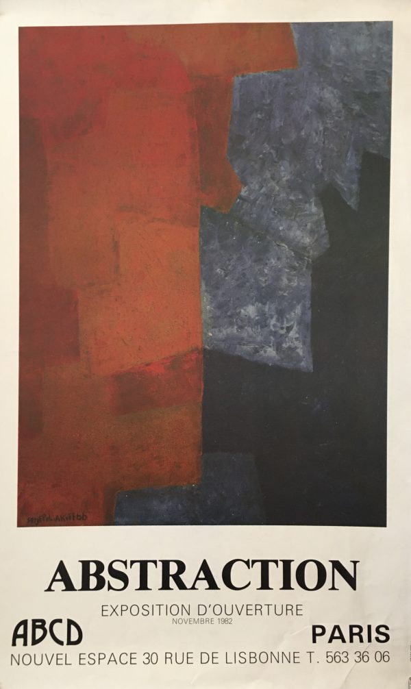Abstraction by POLIAKOFF Original Vintage Poster