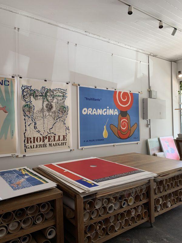 "Orangina ""fruitillante"" Villemot Original Vintage Poster"