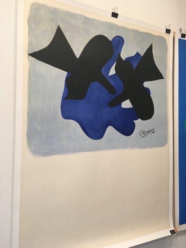 Les Metamorphoses Braque 1963 Original Vintage Poster