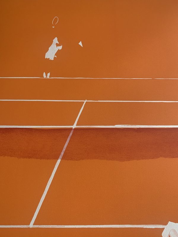 Roland Garros Tennis 1984 Signed & Numbered in Pencil