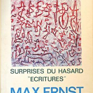 max ernst Galerie alphonse Chave 1971