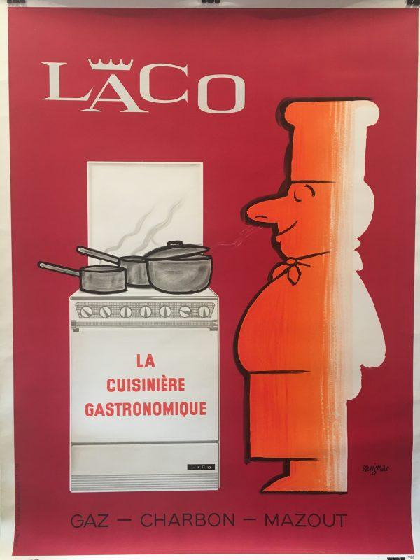 LACO by Savignac Original Vintage Poster