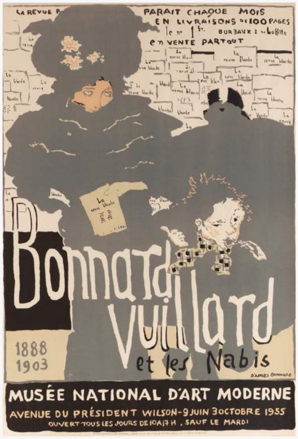 Bonnard Vuillard Musée National d'Art Moderne Original Vintage Poster