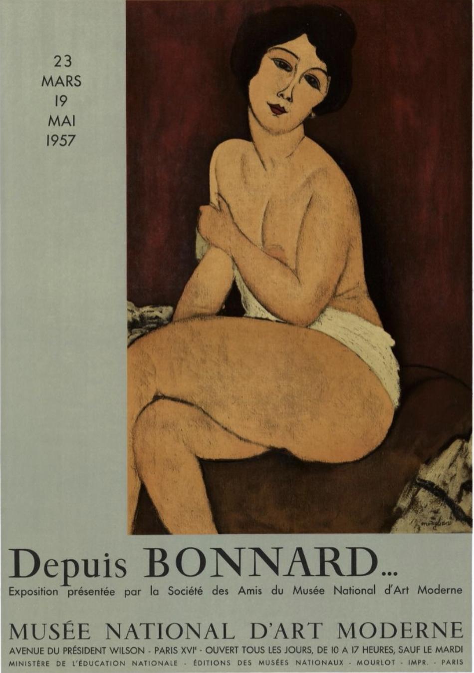 Modigliani Depuis Bonnard