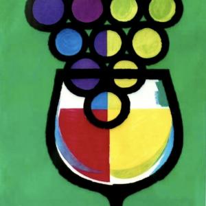 Jus de Raisin by Piatti Original Vintage Poster