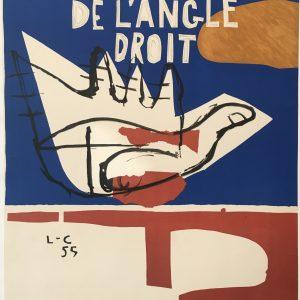 Le Corbusier - Poeme de L'Angle Droit Original Vintage Poster