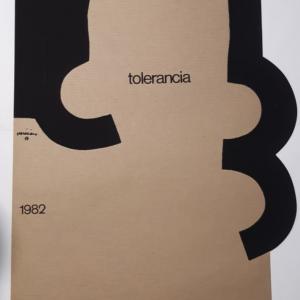 Eduardo Chillida 'Tolerancia' 1982 Original Vintage Poster