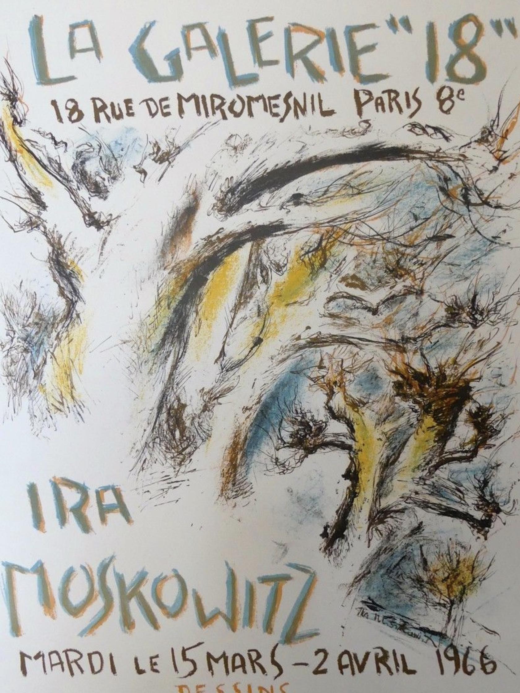 IRA MOSKOWITZ Original Vintage Poster