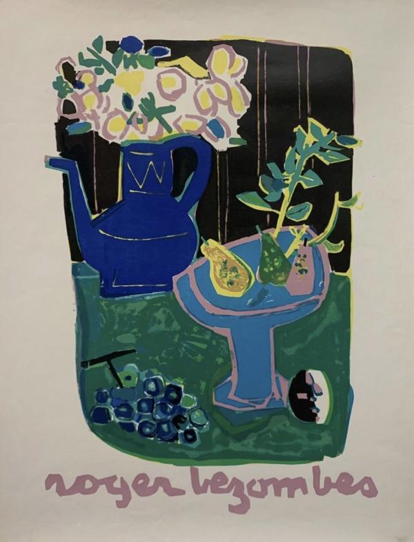 """Dead Nature"" ROGER BEZOMBES Original Vintage Poster"