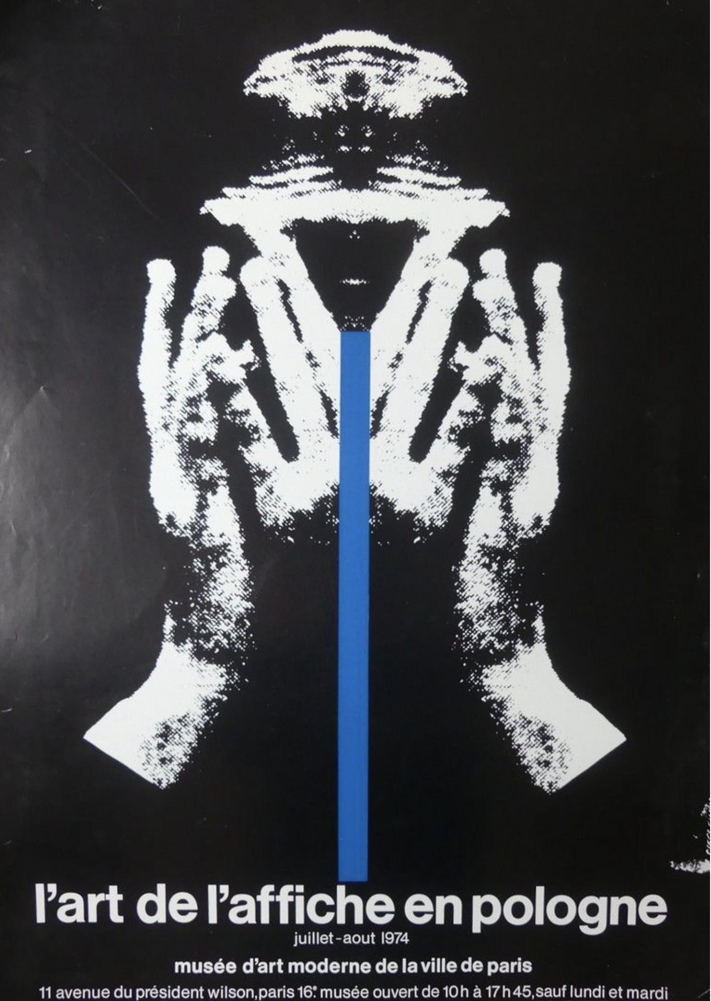 CIESLEWICZ 1974 Original Vintage Poster Letitia Morris Gallery