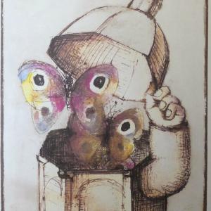 Année du Patrimoine Original Vintage Poster Letitia Morris Gallery