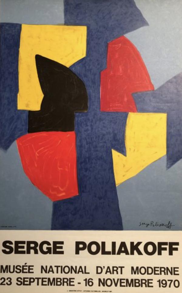 Serge Poliakoff, Musée National d'Art Moderne