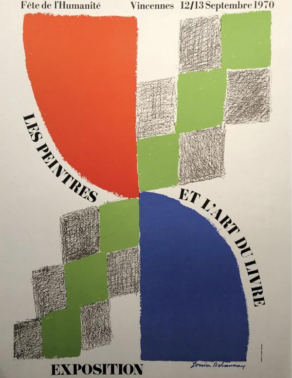 Sonia Delaunay Les Peintres et L'art du Livre