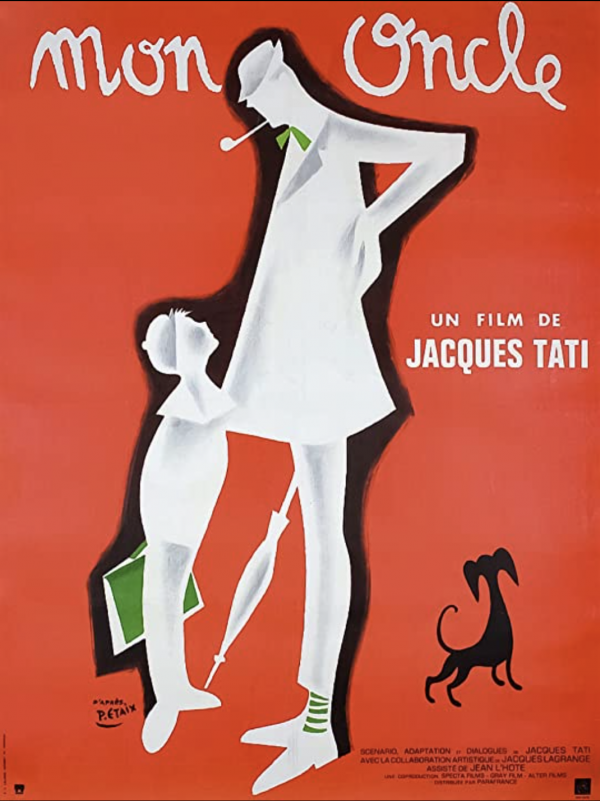 Mon Oncle Jacques Tati 1958 Original Vintage Poster
