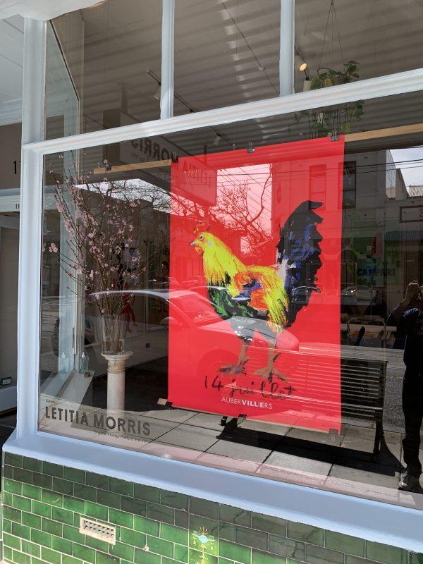 QUAREZ 14 Juillet rooster coq